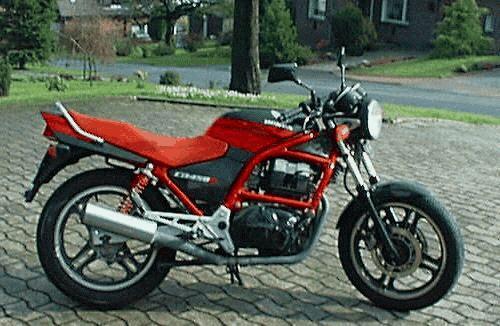 moto honda 450 cbs